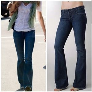 Paige- sz.29, Anthro jean, button fly, flar